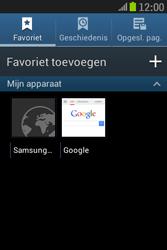 Samsung S6310 Galaxy Young - Internet - hoe te internetten - Stap 9
