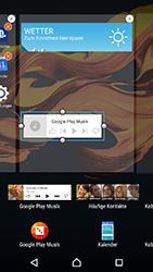 Sony Xperia X Compact - Startanleitung - Installieren von Widgets und Apps auf der Startseite - Schritt 7