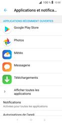 Alcatel 1X - Applications - Supprimer une application - Étape 5