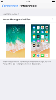 Apple iPhone 8 Plus - iOS 11 - Hintergrund - 4 / 9