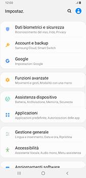 Samsung Galaxy S9 Plus - Android Pie - Dispositivo - Ripristino delle impostazioni originali - Fase 5