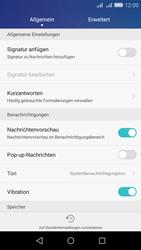 Huawei Y6 - SMS - Manuelle Konfiguration - Schritt 6