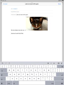 Apple ipad-pro-12-9-ios-12 - E-mail - Bericht met attachment versturen - Stap 12