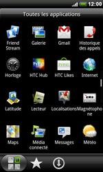 HTC S510e Desire S - Internet - navigation sur Internet - Étape 2