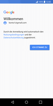 LG Q6 - E-Mail - Konto einrichten (gmail) - Schritt 10