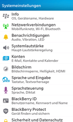 BlackBerry Z10 - WiFi - WiFi-Konfiguration - Schritt 4