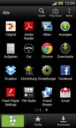 HTC Desire X - Gerät - Zurücksetzen auf die Werkseinstellungen - Schritt 3