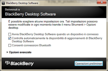 BlackBerry Q10 - Software - Installazione del software di sincronizzazione PC - Fase 12