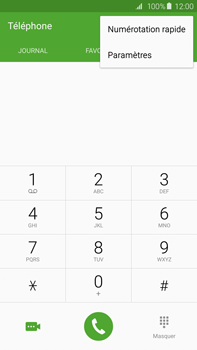 Samsung G928F Galaxy S6 Edge + - Messagerie vocale - Configuration manuelle - Étape 5