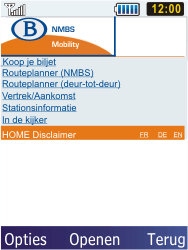 Samsung C3350 Xcover 2 - Internet - internetten - Stap 17