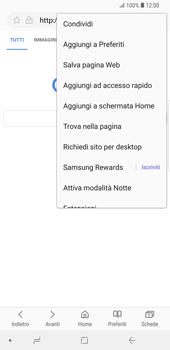 Samsung Galaxy S9 Plus - Internet e roaming dati - Uso di Internet - Fase 8