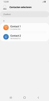 Samsung galaxy-s9-sm-g960f-android-pie - Contacten en data - Contacten kopiëren van toestel naar SIM - Stap 9