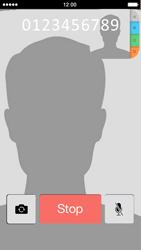 Apple iPhone 5 - Applicaties - FaceTime gebruiken - Stap 10