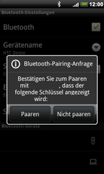 HTC Desire - Bluetooth - Geräte koppeln - 11 / 13