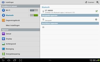 Samsung N8000 Galaxy Note 10-1 - Bluetooth - koppelen met ander apparaat - Stap 9