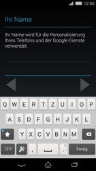 Sony Xperia Z2 - Apps - Konto anlegen und einrichten - Schritt 6