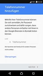 Sony Xperia XZ - Apps - Konto anlegen und einrichten - 15 / 22