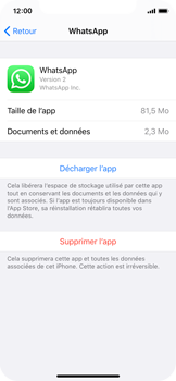 Apple iPhone 11 Pro - Applications - Supprimer une application - Étape 6
