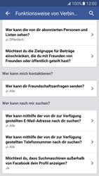 Samsung Galaxy S7 - Datenschutz und Sicherheit - Datenschutzeinstellungen von Facebook ändern - 30 / 35