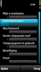 Nokia X6-00 - e-mail - handmatig instellen - stap 26