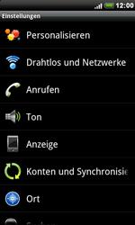HTC Desire - WLAN - Manuelle Konfiguration - 4 / 10