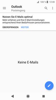 Sony Xperia XA2 Ultra - E-Mail - Konto einrichten (outlook) - Schritt 5