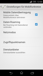 Sony D2203 Xperia E3 - Ausland - Im Ausland surfen – Datenroaming - Schritt 10