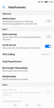 Huawei Mate 10 Pro - Internet und Datenroaming - Prüfen, ob Datenkonnektivität aktiviert ist - Schritt 5