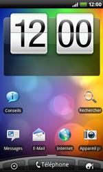 HTC A7272 Desire Z - Internet - configuration automatique - Étape 1