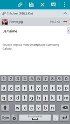 Samsung G900F Galaxy S5 - E-mail - envoyer un e-mail - Étape 16
