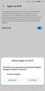 Huawei Y7 (2018) - WiFi - Activez WiFi Calling - Étape 8
