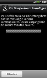HTC Desire - Apps - Konto anlegen und einrichten - 2 / 2