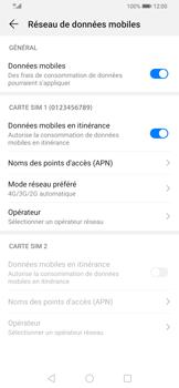 Huawei P Smart Z - Internet et connexion - Activer la 4G - Étape 7