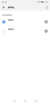 Huawei P20 - Android Pie - Internet - Manuelle Konfiguration - Schritt 17