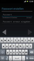 Sony Xperia J - Apps - Einrichten des App Stores - Schritt 11
