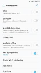 Samsung Galaxy A5 (2016) - Android Nougat - Internet e roaming dati - Come verificare se la connessione dati è abilitata - Fase 5