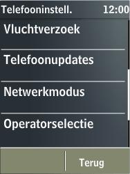 Nokia X3-02 - netwerk en bereik - gebruik in binnen- en buitenland - stap 5