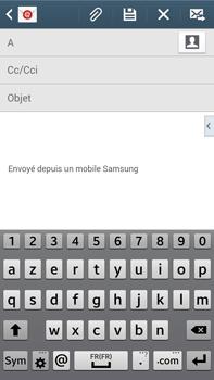 Samsung Galaxy Note 3 - E-mails - Envoyer un e-mail - Étape 5