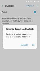Samsung Galaxy A3 (2017) - Bluetooth - Jumelage d