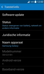 Samsung Galaxy Trend 2 Lite (G318H) - Software updaten - Update installeren - Stap 5