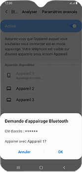 Samsung Galaxy A10 - Bluetooth - connexion Bluetooth - Étape 10