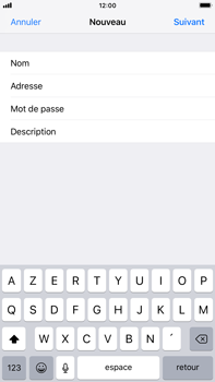 Apple iPhone 8 Plus - iOS 12 - E-mail - Configuration manuelle - Étape 10
