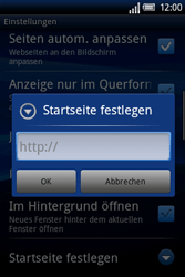 Sony Ericsson Xperia X8 - Internet - Manuelle Konfiguration - 21 / 23
