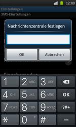 Samsung I9000 Galaxy S - SMS - Manuelle Konfiguration - Schritt 5