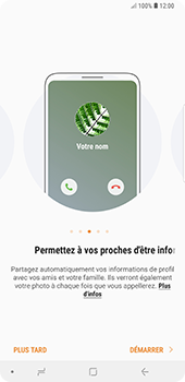 Samsung Galaxy Note 9 - Contact, Appels, SMS/MMS - Ajouter un contact - Étape 4