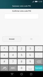 Huawei P8 Lite - Sécuriser votre mobile - Activer le code de verrouillage - Étape 8