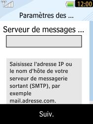LG T385 - E-mails - Ajouter ou modifier un compte e-mail - Étape 9