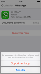 Apple iPhone 5 iOS 7 - Applications - Comment désinstaller une application - Étape 7
