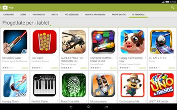Sony Xperia Tablet Z2 LTE - Applicazioni - Installazione delle applicazioni - Fase 12