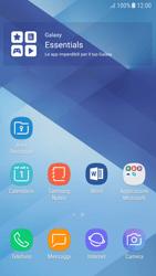Samsung Galaxy A5 (2017) - Android Nougat - Operazioni iniziali - Installazione di widget e applicazioni nella schermata iniziale - Fase 3